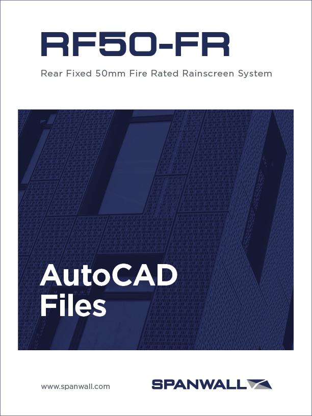 Spanwall RF50-FR AutoCAD Files