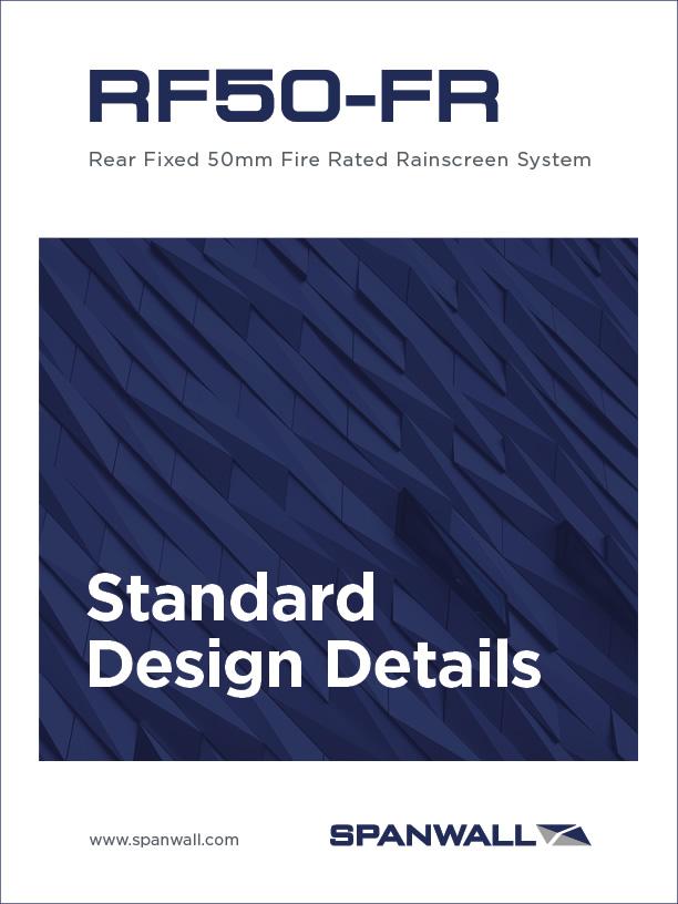 Spanwall RF50 FR Standard Design Details