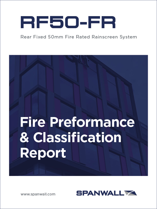 Spanwall RF50-FR Fire Test Performance & Classification Report