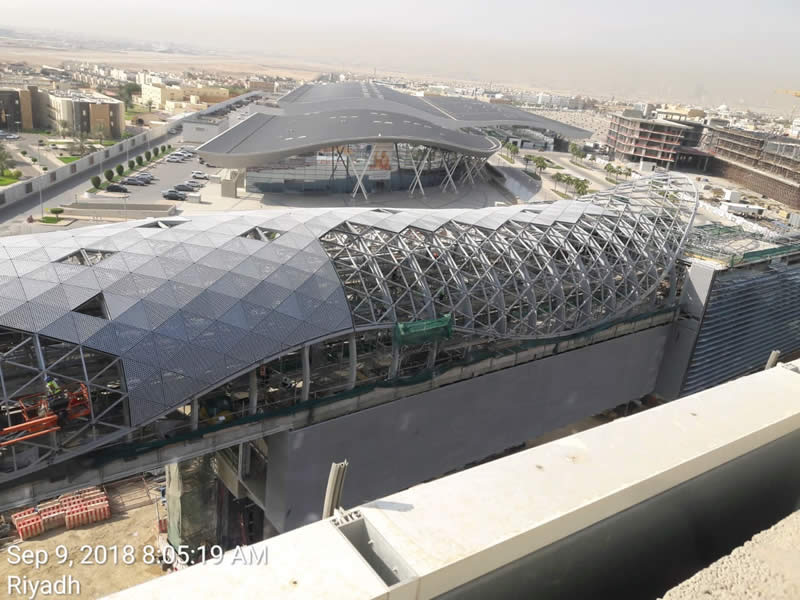 Spanwall complete Riyadh Metro project as Saudi capital aims to cut air pollution